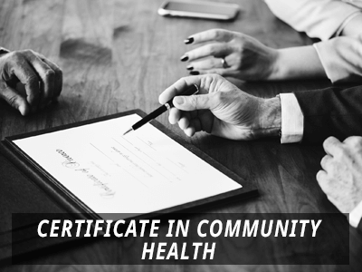 Community Health Certificate Programs
