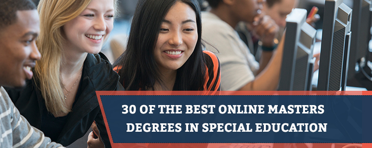 30 of the best online masters degrees in special education