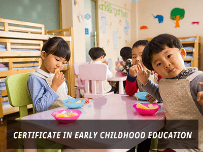 Certificate in Early Childhood Education