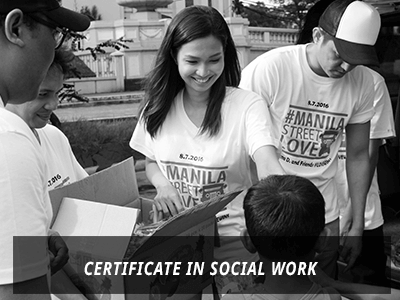 Certificate in Social Work