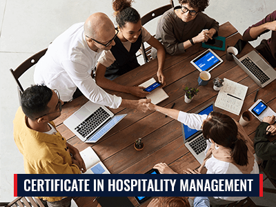 Certificate in Hospitality Management