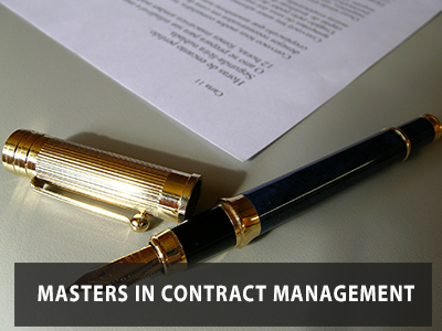 Masters in Contract Management