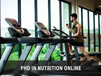 PhD in Nutrition Online